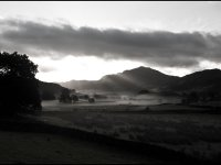 Sunrise over Harter Fell