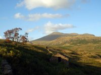 Scafell from peat Huts